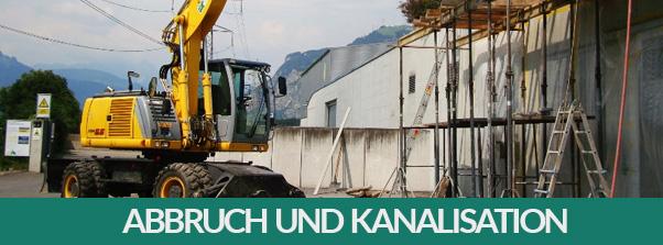 Kanalisations- und Leitungsbau